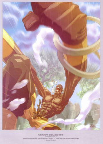 video games Street Fighter artbook artwork Dhalsim wallpaper
