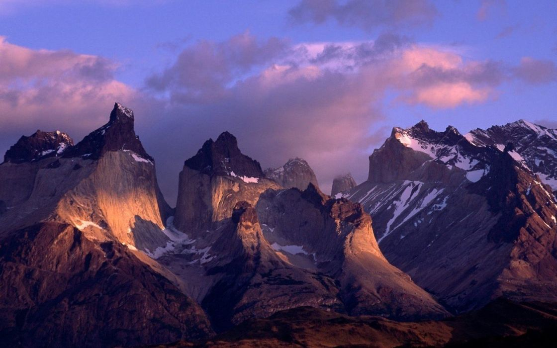 mountains skyscapes wallpaper