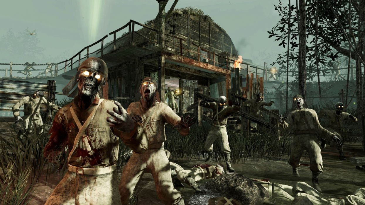 video games zombies Call of Duty Treyarch wallpaper