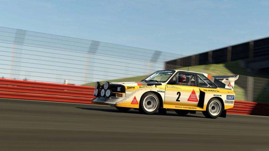 video games cars Quattro Playstation 3 Audi S1 Gran Turismo 6 wallpaper