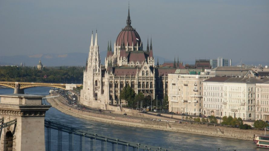 cityscapes buildings Hungary Hungarian Parliament Building Hungarian Parliament wallpaper