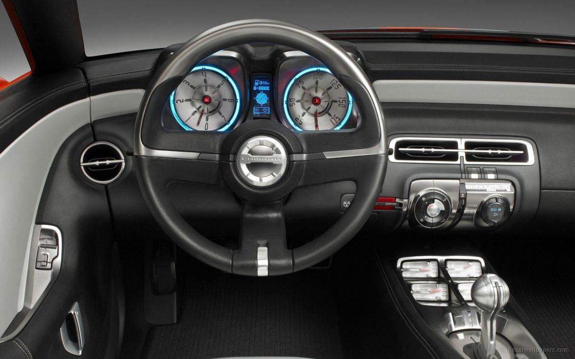 cars interior concept art vehicles Chevrolet Camaro convertible chevrole wallpaper