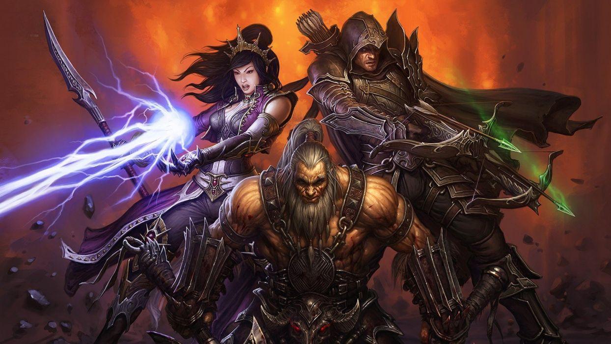 video games Diablo Diablo III wallpaper