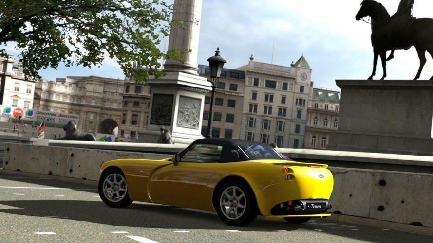 video games cars Gran Turismo 5 Playstation 3 TVR Tuscan Tamora wallpaper