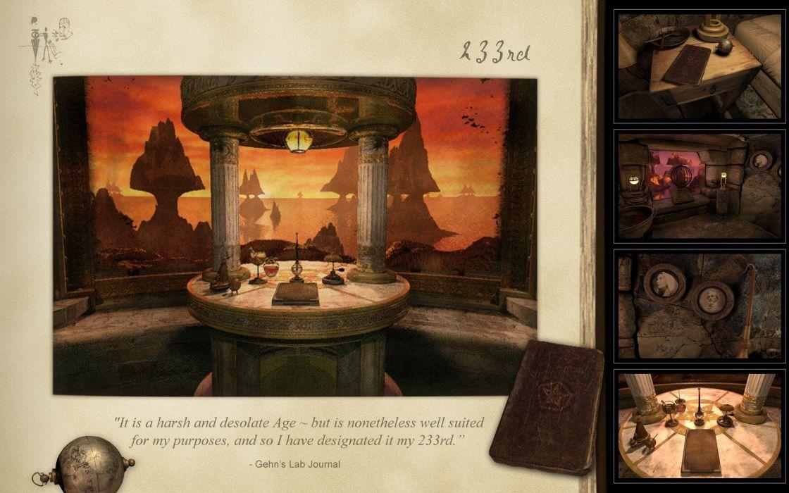 video games myst Riven wallpaper