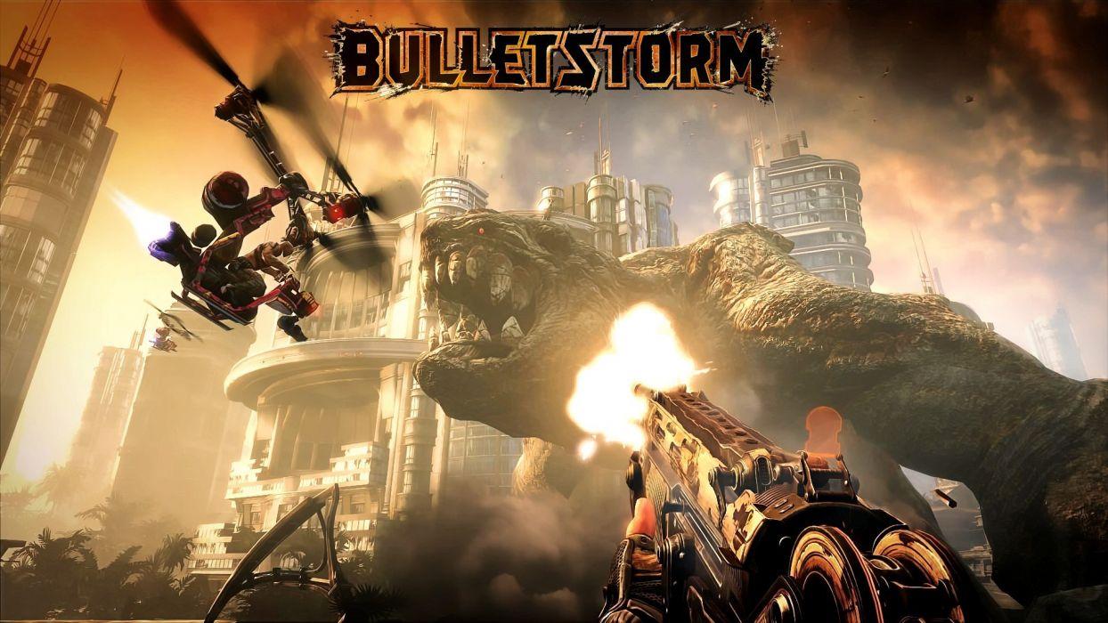 video games ammunition Bulletstorm wallpaper