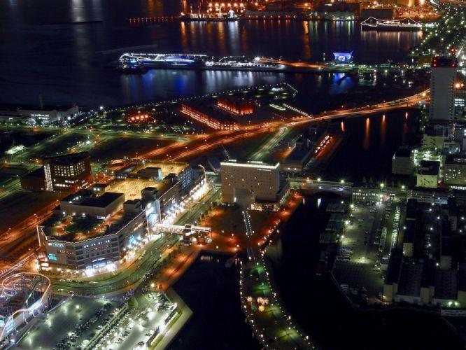 landscapes cityscapes lights carnivals nightlights wallpaper