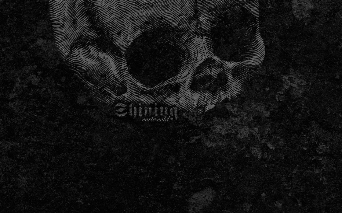 skulls black metal cold shining textures wallpaper