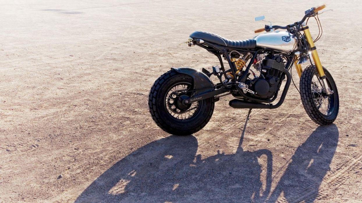 shadows deus motorbikes wallpaper