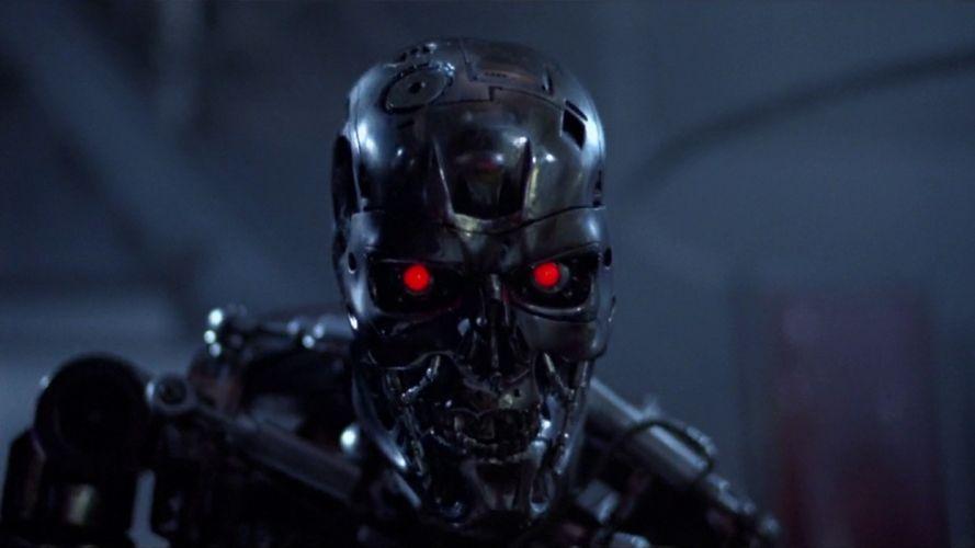 Terminator movies robots The Terminator wallpaper