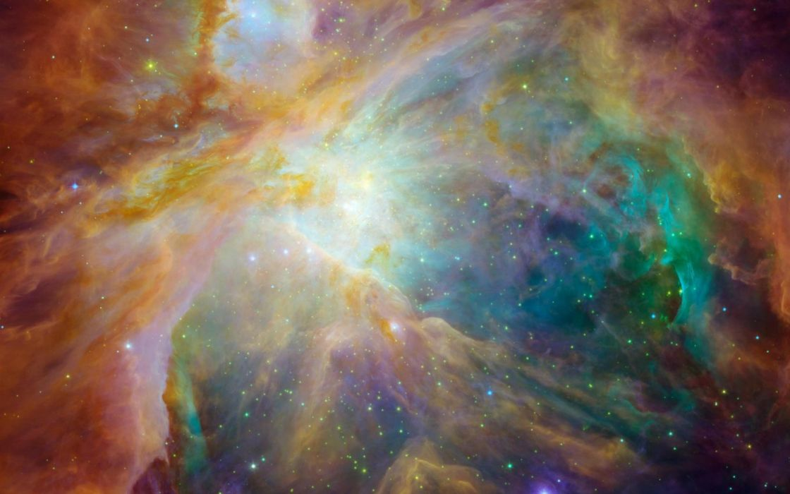 outer space nebulae orion nebula wallpaper