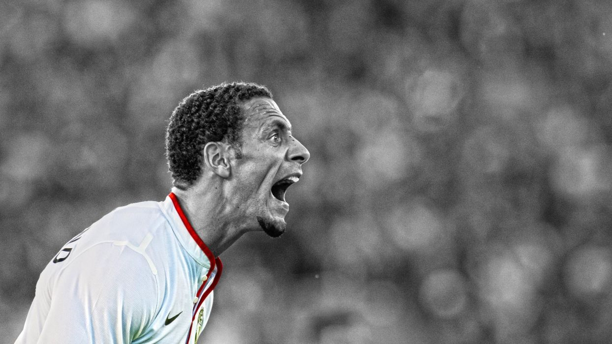 soccer HDR photography Manchester United FC premier league cutout Rio Ferdinand wallpaper
