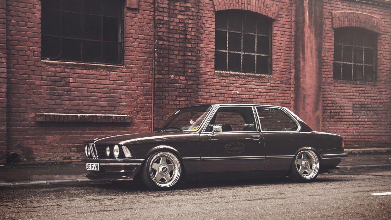 cars rims BMW 3 Series stance e21 wallpaper