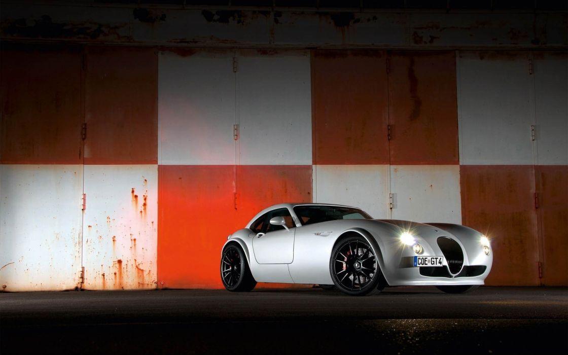 white cars wallpaper