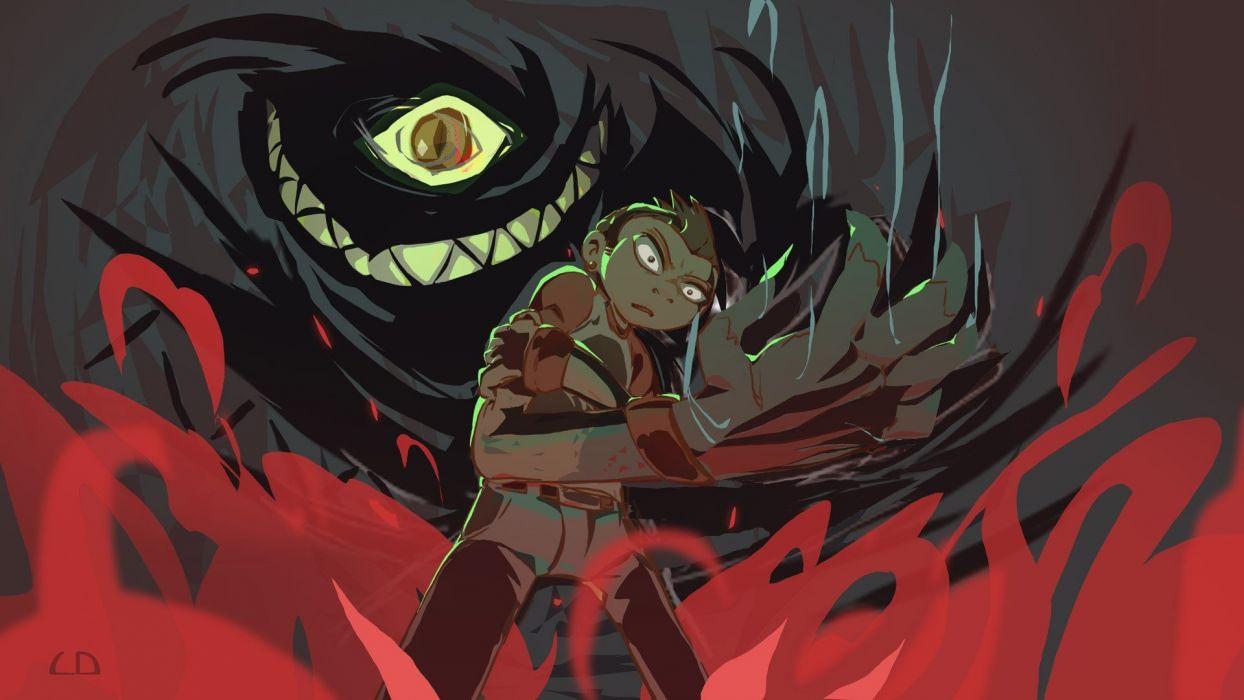 monsters hands haunted goblins Anole wallpaper