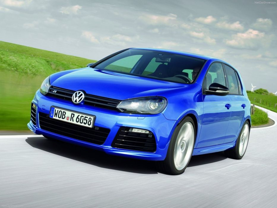 cars Volkswagen Golf Volkswagen golf R German cars wallpaper