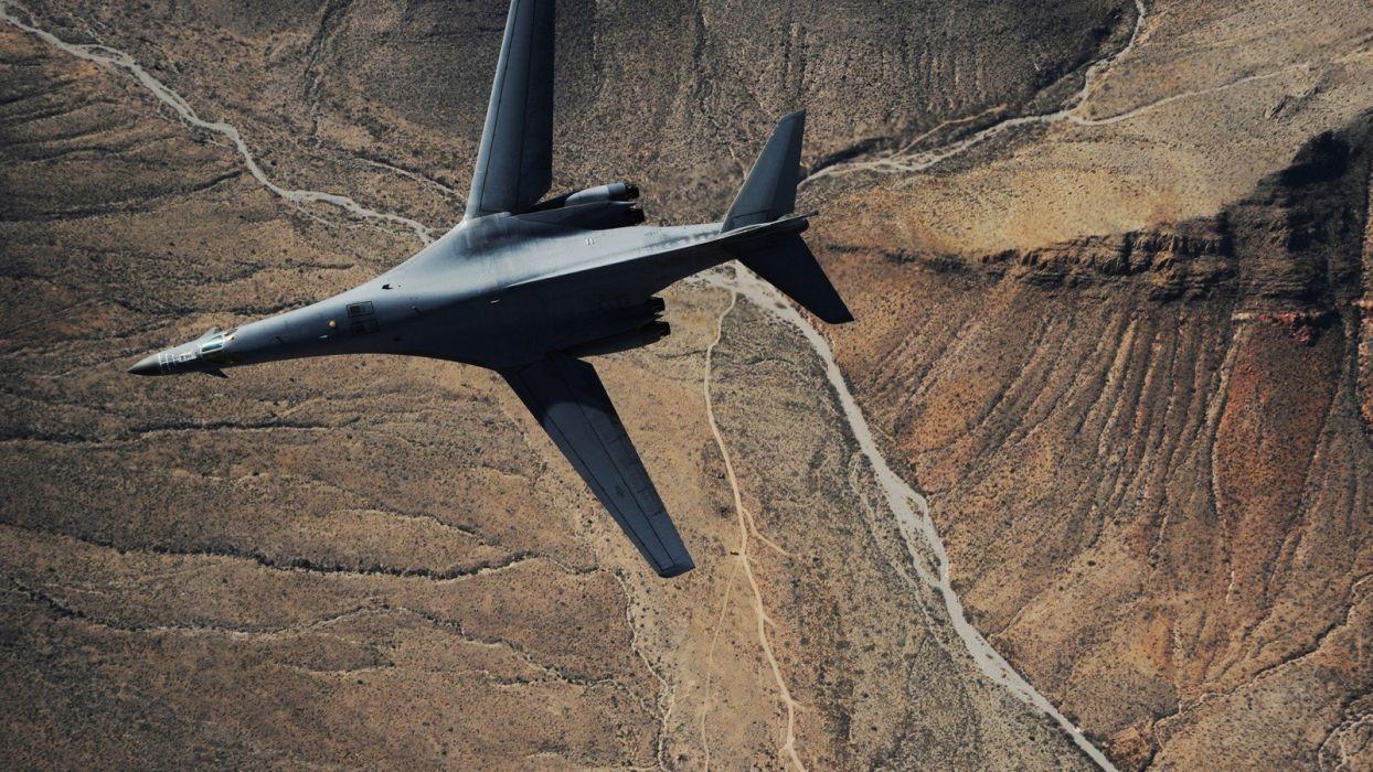 aircraft aviation B1 Lancer wallpaper