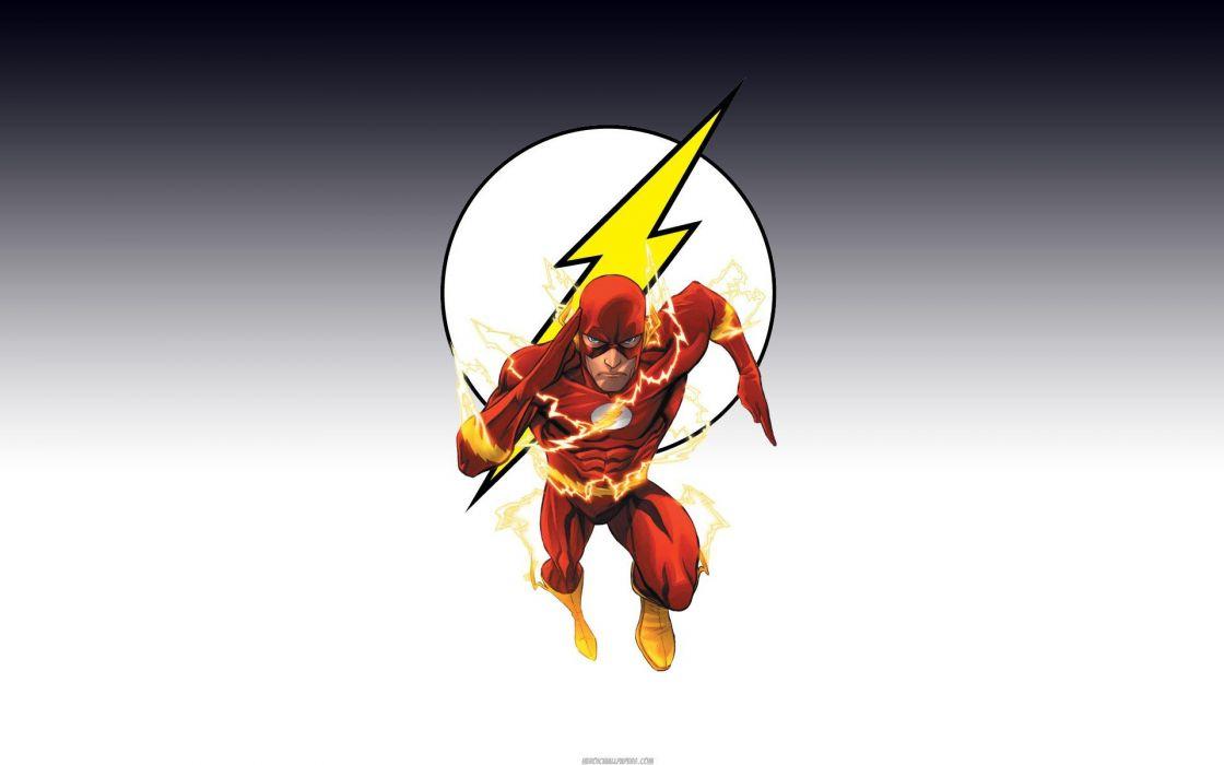 DC Comics superheroes Flash (superhero) wallpaper