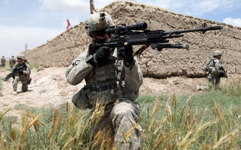 army snipers sniper rifles M14 EBR wallpaper
