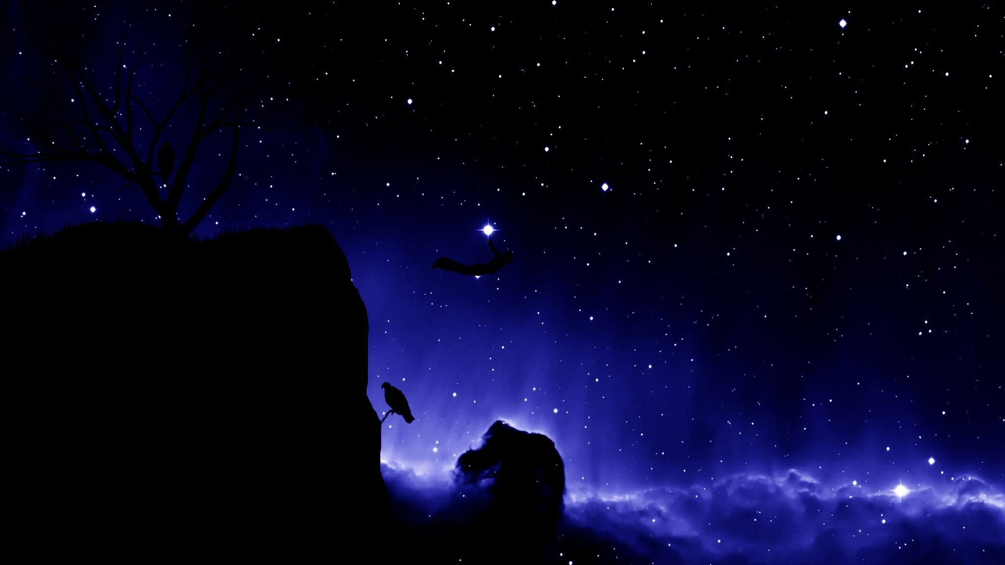 Skyscapes night sky wallpaper 2048x1152 294150 for 2048x1152 wallpaper