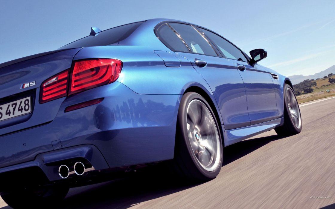 cars BMW M5 low-angle shot wallpaper