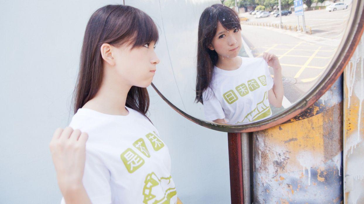 women Japanese Asians Taiwanese models wallpaper