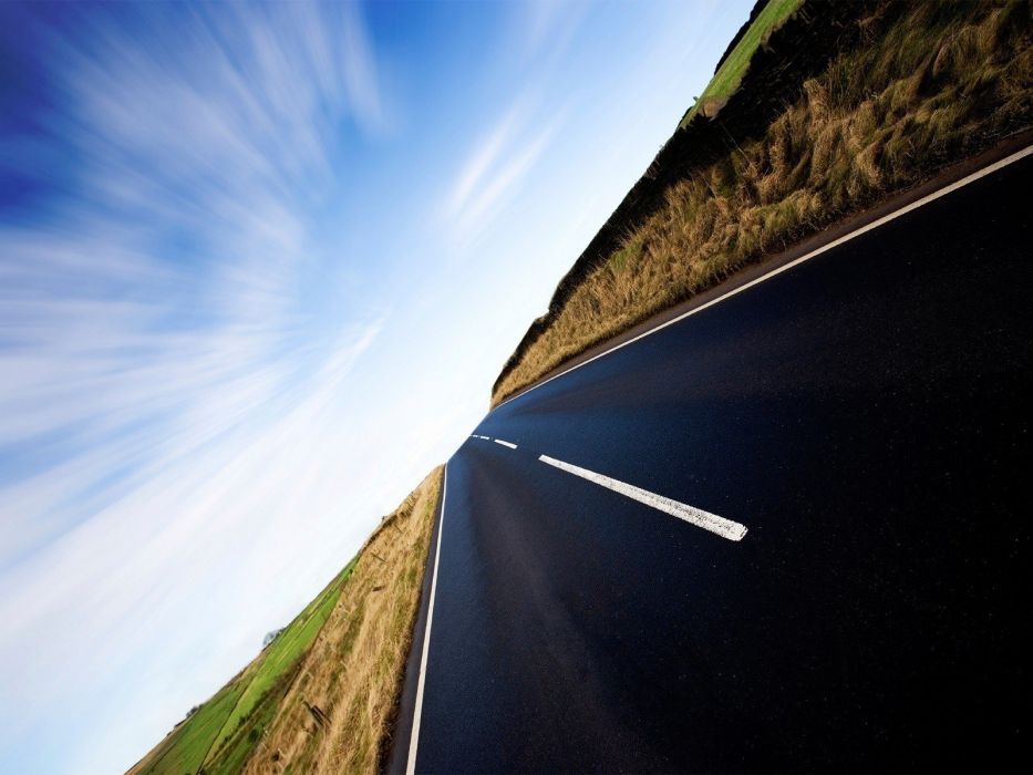 deserts highways roads wallpaper