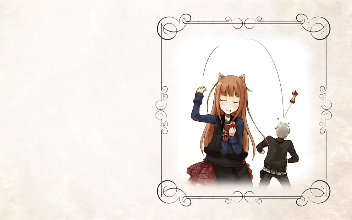 Spice and Wolf animal ears Craft Lawrence Holo The Wise Wolf wallpaper