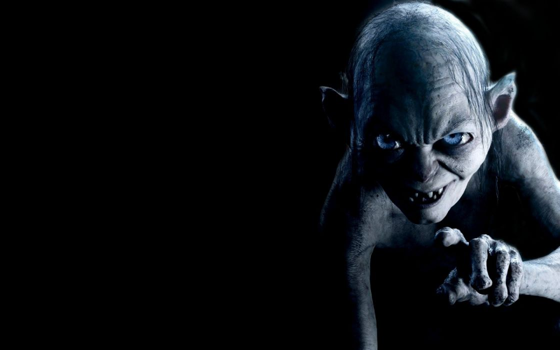 Gollum The Hobbit SmAIA wallpaper