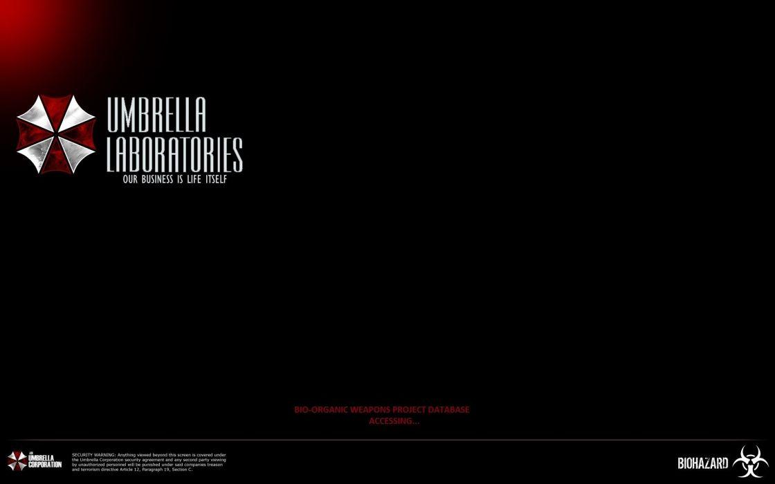 Resident Evil Umbrella Corp_ wallpaper