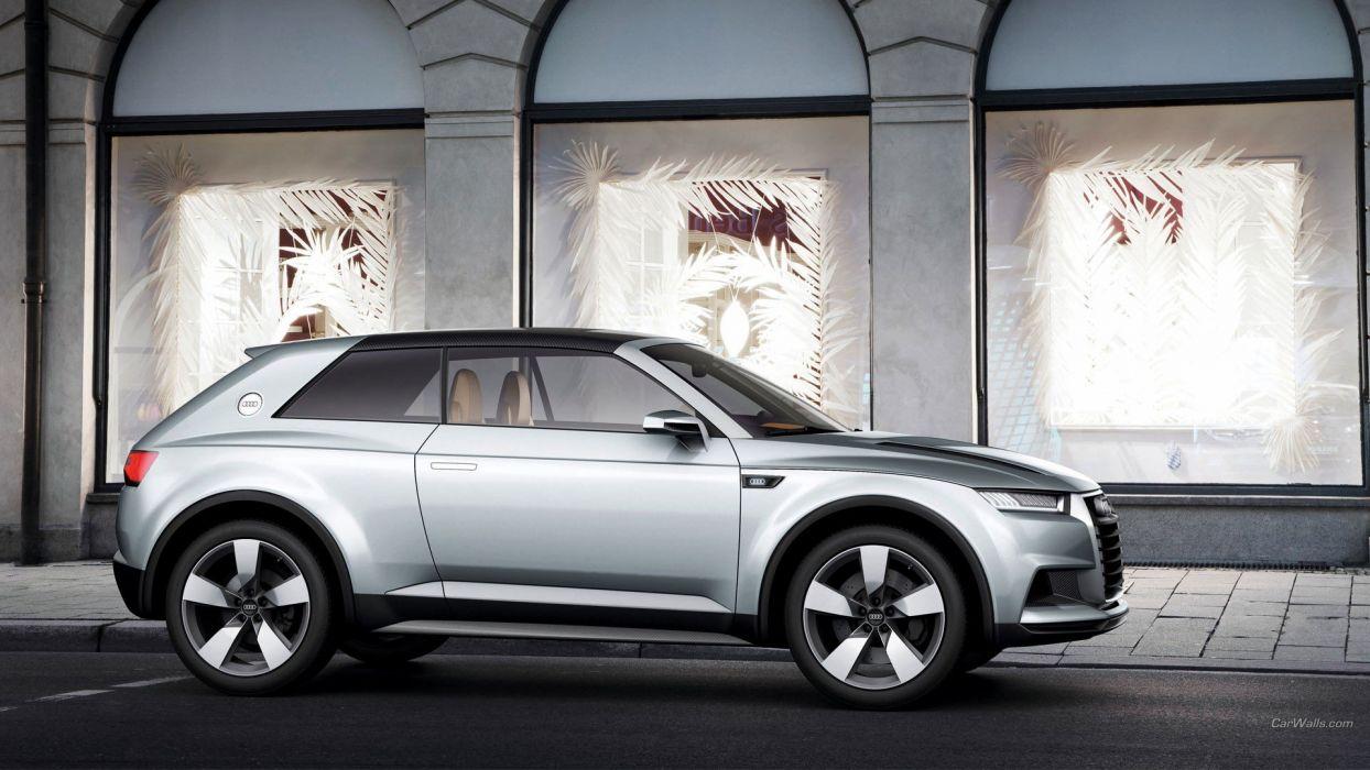 Audi coupe Audi Crosslane Coupe Concept Car wallpaper