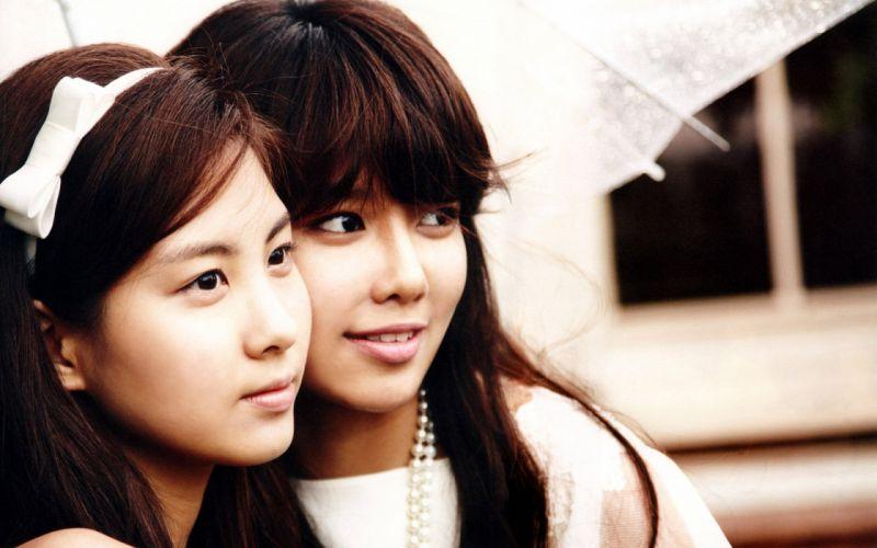 women Girls Generation SNSD celebrity Seohyun singers Choi Sooyoung wallpaper