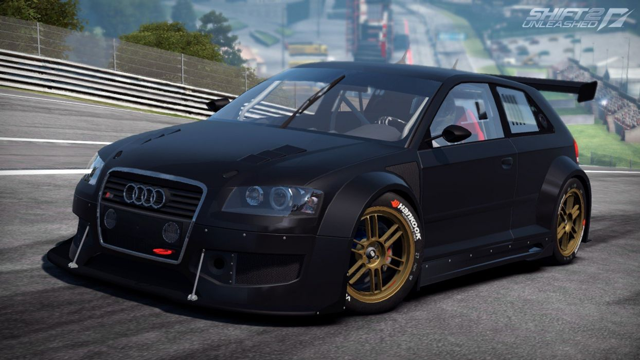 video games cars Audi A3 games Need For Speed Shift 2: Unleashed pc games wallpaper