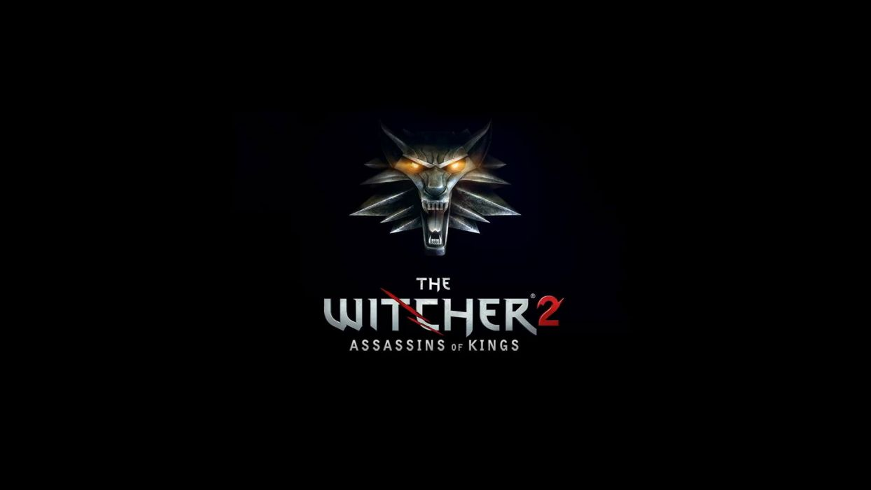 video games logos The Witcher 2: Assassins of Kings wallpaper