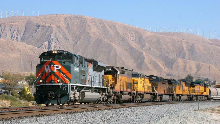 California western locomotives Pacific wallpaper