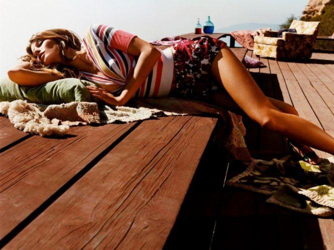 brunettes women lying down wallpaper