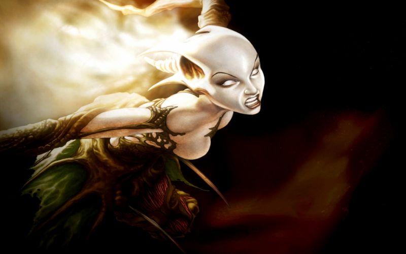 Magic: The Gathering fantasy art chronicles of spellborn wallpaper