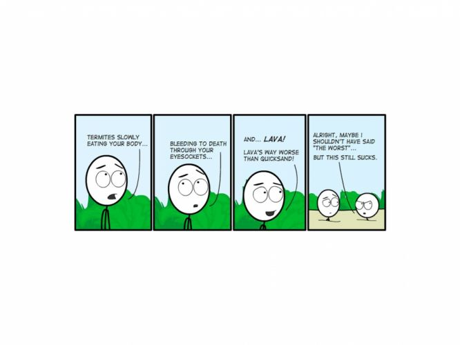 comics funny comic strip Not From Concentrate wallpaper