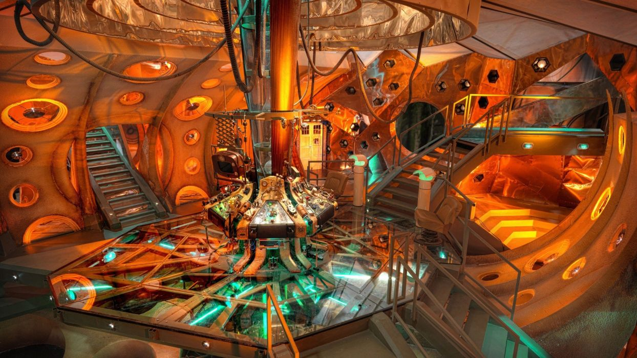 TARDIS Doctor Who Tardis Control Room wallpaper