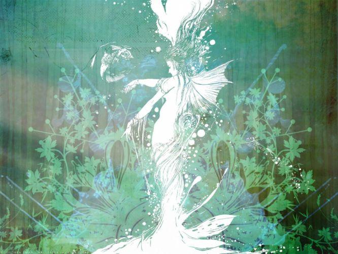 abstract fantasy art spirit mermaids artwork wallpaper