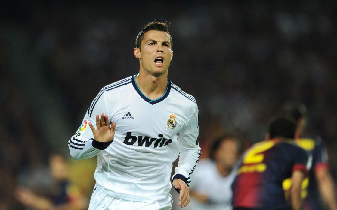 soccer Real Madrid Cristiano Ronaldo athletes football player wallpaper