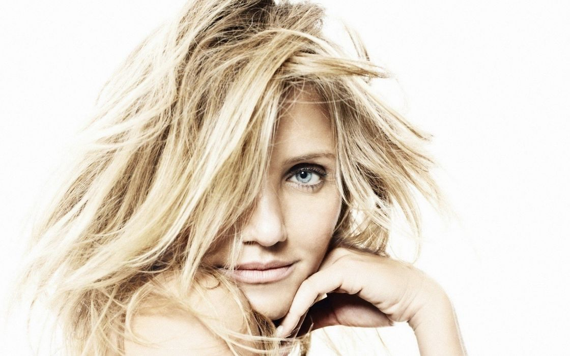 blondes women actress Cameron Diaz portraits wallpaper