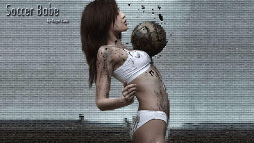 women soccer Asians wallpaper