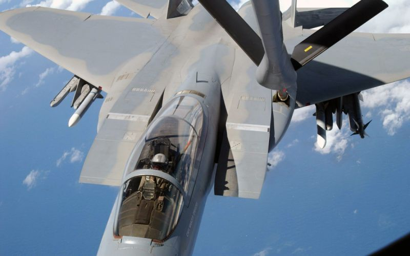 airplanes fuel injection system F15 Eagle wallpaper