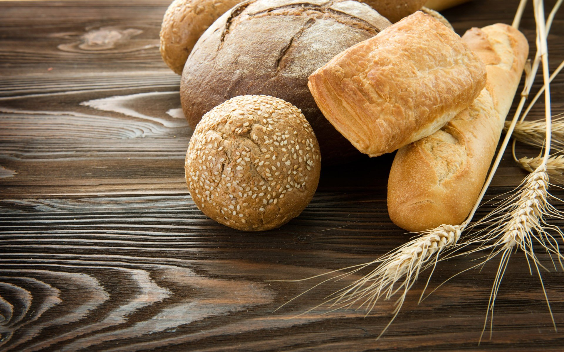 food bread wheat flour meal farina baguette wallpaper | 1920x1200