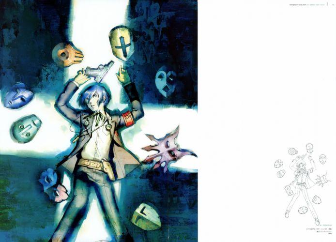 Persona series Persona 3 Arisato Minato Persona 3 Portable wallpaper