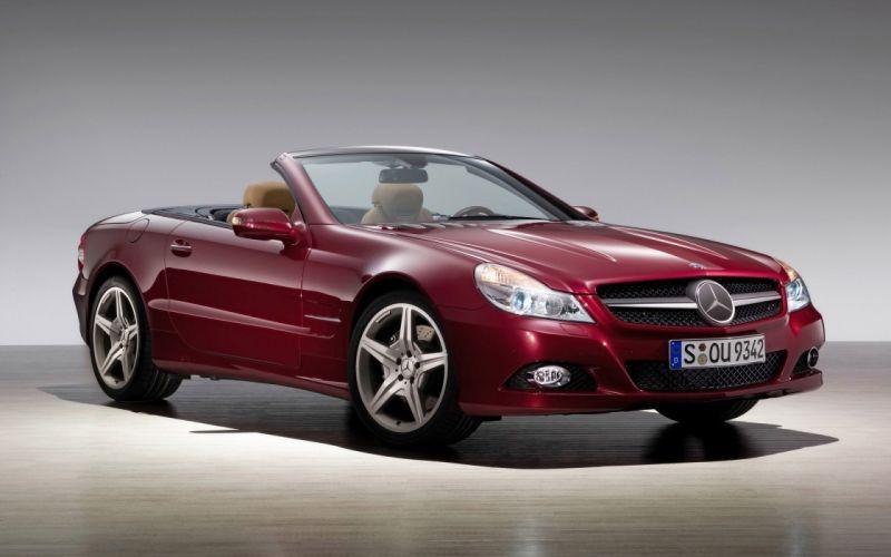 cars convertible Mercedes-Benz wallpaper