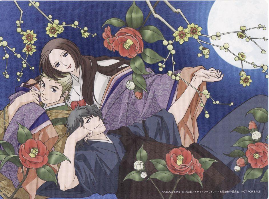 Chouyaku Hyakuninisshu Uta Koi wallpaper