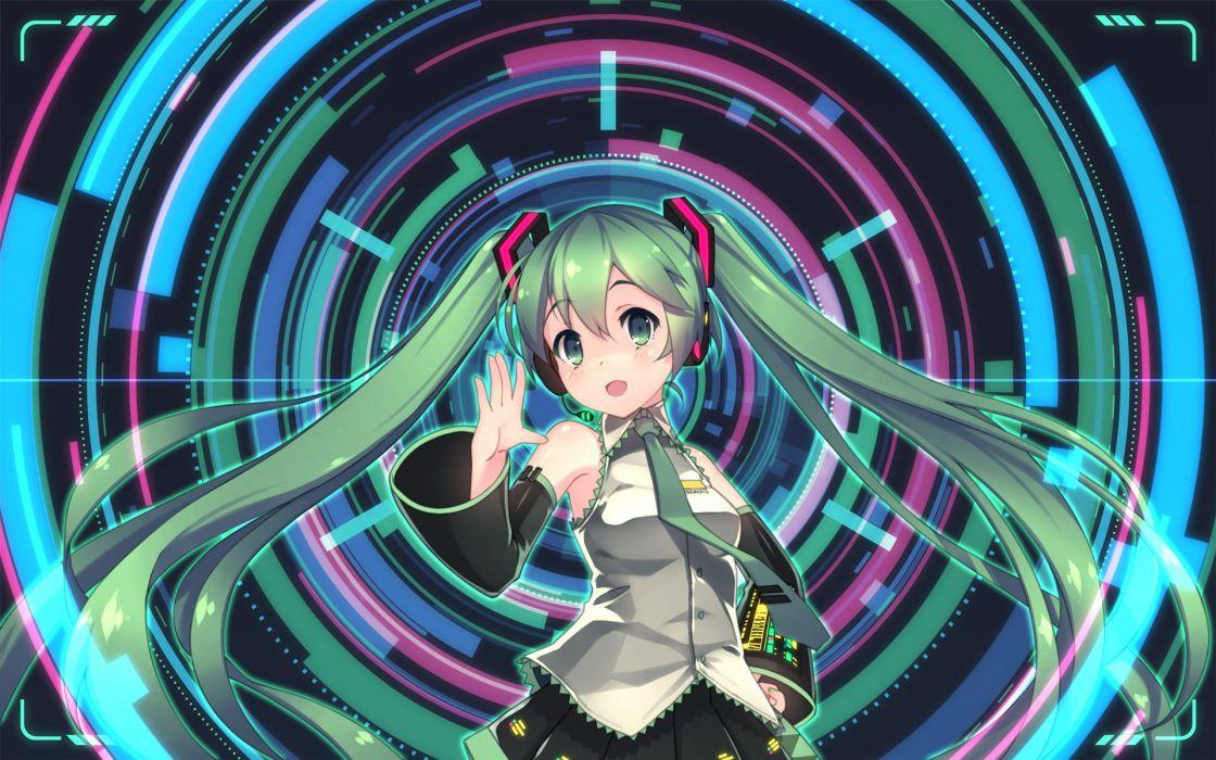 hatsune miku hebinui vocaloid wallpaper