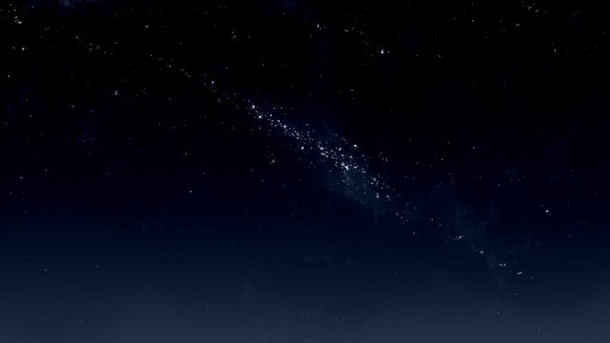 kibunya 39 night nobody original sky stars wallpaper